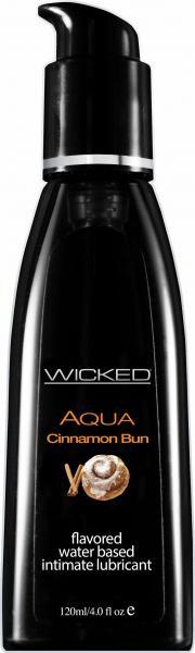 Wicked Aqua Lubricant Cinnamon Bun 4oz