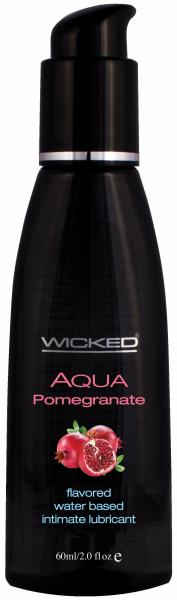 Wicked Aqua Pomegranate Lube 2oz