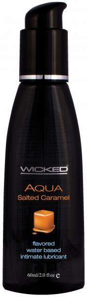Wicked Aqua Salted Caramel Lube 2oz