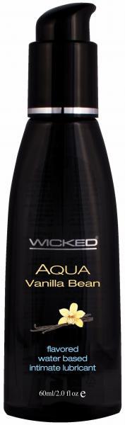 Wicked Aqua Vanilla Bean Lube 2oz