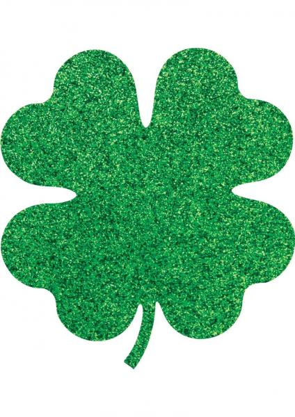 Pasties Shamrock & Roll Green 4 Leaf Clover 2 Pairs