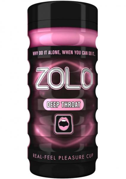 Zolo Deep Throat Real Feel Pleasure Cup