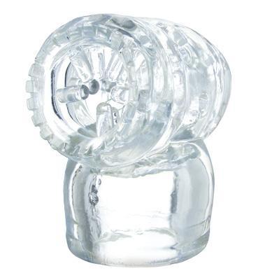 Wand Essentials Vibra Cup Head Stimulator Attachment