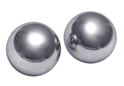 Titanica Extreme Steel Orgasm Balls Silver