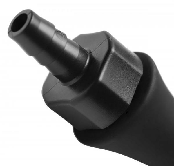 Canal 5 Bulb Silicone Enema Attachment Black