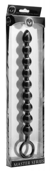 Pathicus 9 Bulb Silicone Anal Wand Black