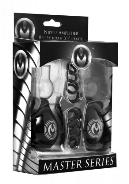 Nipple Amplifier Enlargement Bulbs with O-Rings