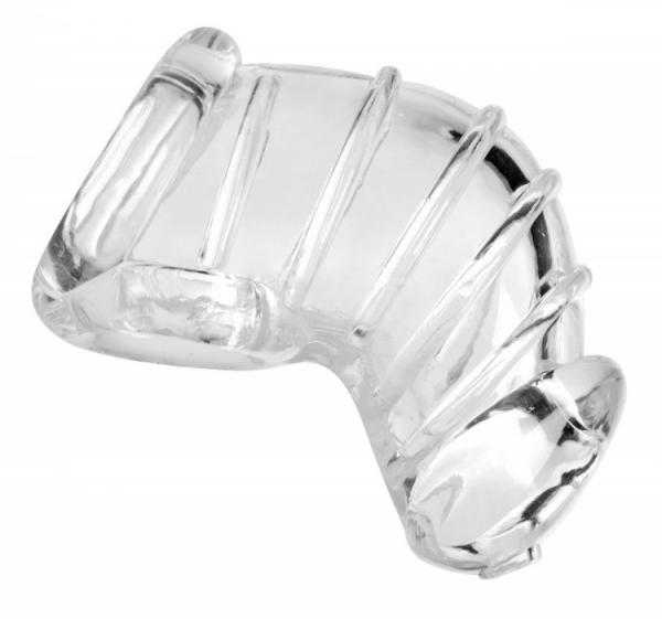 Detained Soft Body Chastity Cage Clear