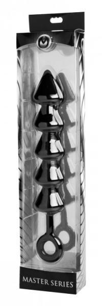 Spades XL Anal Beads Black