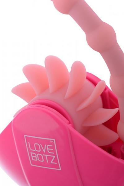 Robo Lick 60X Plus Rotating Dual Stimulator Pink