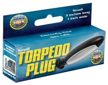 Zeus Electrosex Torpedo Plug Small