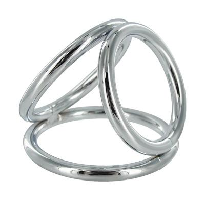 Triad Chamber 2 inches Triple Cock Ring Large