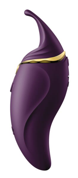 Zalo Hero Twilight Purple Clitoral Massager