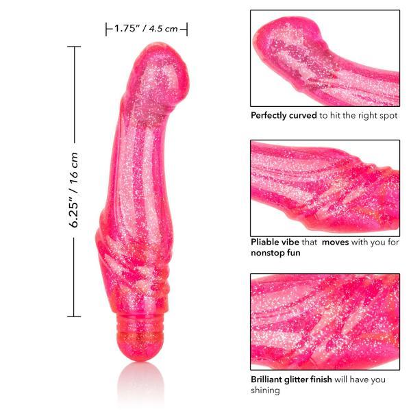 Sparkle G Glitz Pink G-Spot Vibrator