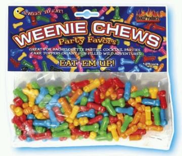 Weenie Chews Penis Candy