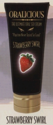 Oralicious Oral Sex Cream Strawberry 2oz