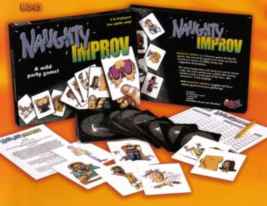 Naughty Improv Adult Game