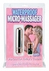 Waterproof Micro Mini Massager - Silver 1800-26thmb