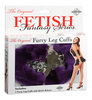 Furry Leg Cuffs - Purple 3808-12thmb