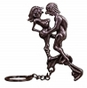 Metal Keyring (man/woman) 300thmb