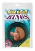 Cock and Ball Rings - 3 pc. Set - Rubber PD2358-23thmb