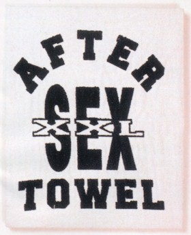 After Sex Towel (Carded) Extras PD5056-01