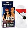 Lover's Headgear Eyemask/Ball Gag Red 2736-11thmb