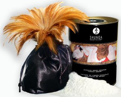 """Sweet Snow"" Body Powder - Honey Lubes & Lotions SH3003"