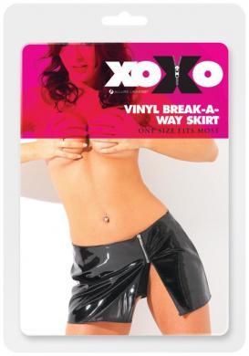 Vinyl Break A Way Skirt