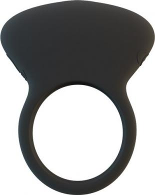 Lux Lx4+ Rechargeable Silicone Male Stimulator C Ring Waterproof - Black