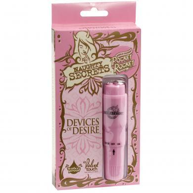 Naughty Secrets Pocket Rocket Pink Vibrator Desire