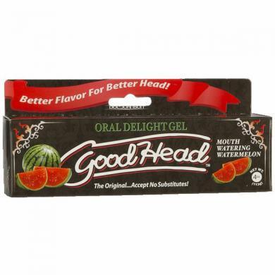 Goodhead Oral Delight Gel Watermelon 4oz Tube