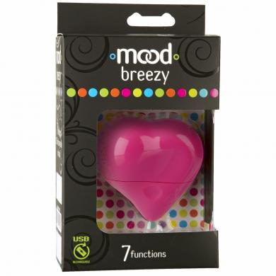 Breezy 7 Function Rechargeable Massager Pink