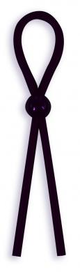 Silicone Cock Ties Cockring - Black