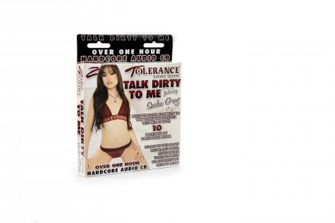 Talk Dirty To Me Featuring Sasha GreyAudio CD