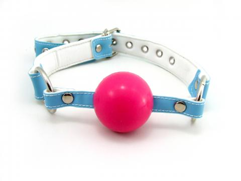 Ball Gag Pink/Blue
