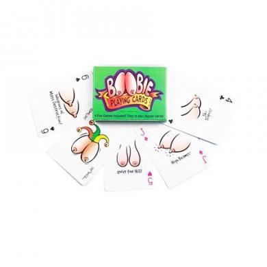 Boobie Playing Cards