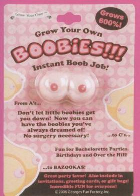 Grow Your Own Boobies