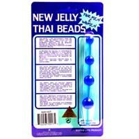 Jelly Thai Beads Blue