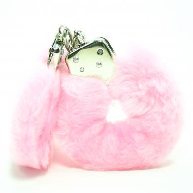 Love Cuffs Plush Pink