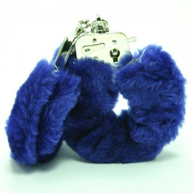 Plush Love Cuff Blue