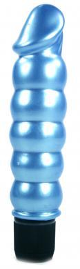 Pearl Shine Ribbed Blue
