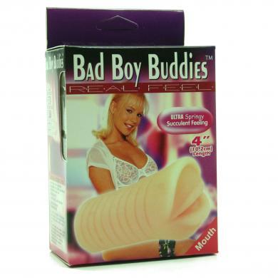 Bad Boy Buddies Real Feel Mouth Stroker