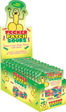 Sour Pecker Patch Display