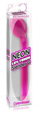 Neon Luv Touch Slender G Pink Vibrator