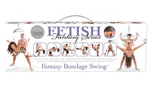 Fantasy Bondage Swing White