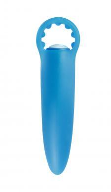 Neon Lil Finger Vibe Blue