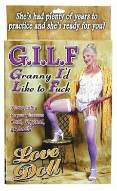 Granny I'd Like To Fuck Love Doll