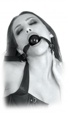 Limited Edition Beginner's Ball Gag Black