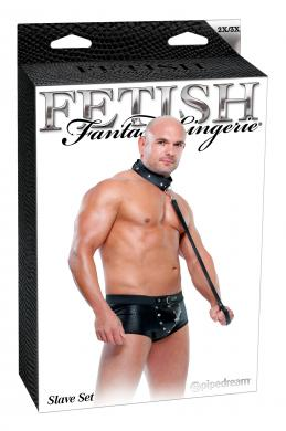 Fetish Fantasy Male Slave Set 2Xl/3Xl